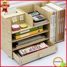 KỆ TÀI LIỆU ĐỂ BÀN, Kệ để tài liệu văn phòng, Kệ đựng tài liệu văn phòng, Kệ để tài liệu bằng gỗ có khay để giấy – Canashop