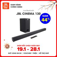 [Săn Voucher 300k – Từ 19 – 28/1] Loa Bluetooth JBL CINEMA SB130 | Thiết kế tối giản | Âm thanh Dolby | Nhiều chuẩn kết nối | Công suất 110W | TRẢ GÓP 0% | HÀNG CHÍNH HÃNG