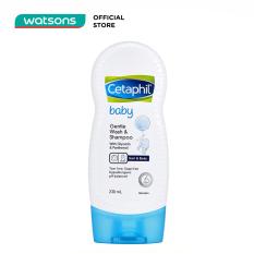 Sữa Tắm Gội Trẻ Em Cetaphil Baby Gentle Wash & Shampoo 230ml