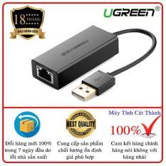 Bộ chuyển đổi USB 2.0 sang LAN 10/100 Mbps CR110 20254 (đen)