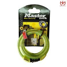 Khóa xe đạp 4 số cố định Master Lock 8143 EURD PRO dây cáp dài 1.2m x 8mm – MSOFT