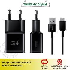 Bộ Sạc Nhanh Samsung Galaxy Note 9 Đầu Type C Original 1M (PVN896)