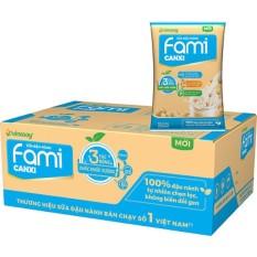 Thùng 40 bịch sữa đậu nành Fami Canxi 200ml
