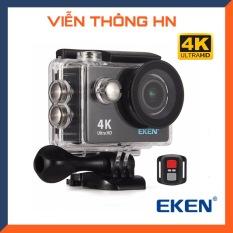 [ BAO HÀNH 5 NĂM ] Camera hành trình Eken h9r 4k wifi – camera thể thao camera hành trình xe máy chống rung chống nước chống sốc lấy nét tự động điều khiển từ xa 30m