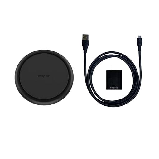 Đế sạc không dây Mophie Universal – thiết kế nhỏ gọn, sang trọng – dùng được cho iPhone/Airpod/các thiết bị hỗ trợ Qi