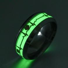 Nhẫn nam titan nhẫn nam nữ dạ quang phát sáng trong đêm nhẫn đôi nam nữ