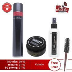 Sáp vuốt tóc Variety + pre-styling + gôm Luxurious (400ml) hoặc Silhouette (350ml)