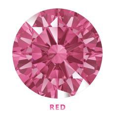 Kim cương nhân tạo Swarovski – Đá màu đỏ (RED)