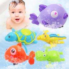 [HCM]Đồ chơi bơi nước đồ chơi nhà tắm cho vặn cót bơi được