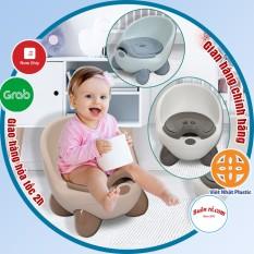 Bô cho bé đi vệ sinh, Ghế bô Hokori Baby VIỆT NHẬT có tựa lưng cao cấp (bô ngồi 4 chân trẻ em) -Br 01315