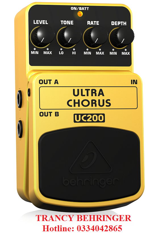 Guitar Stompboxes Behringer UC200 -Ultimate Stereo Chorus Effects Pedal