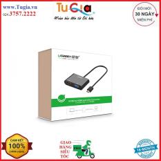 Cáp Chuyển HDMI To VGA+ HDMI Ugreen 40744 – Hàng chính hãng