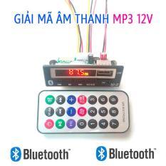 Mạch Thu Bluetooth Hồng Ngoại 12V