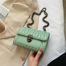 Túi xách đeo chéo nữ hàn quốc niche khóa xoay thời trang