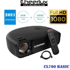 Projector cheerlux CL760 Native Resolution 1920*1080p.