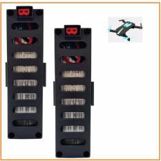 02 Pin Flycam JD018 / JY018, 3.7V, 600mAh, 25C (Đen)
