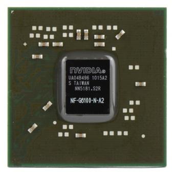1 X New Graphic NVIDIA NF-G6100-N-A2 BGA GPU IC Chip ChipsetWithBalls- - intl