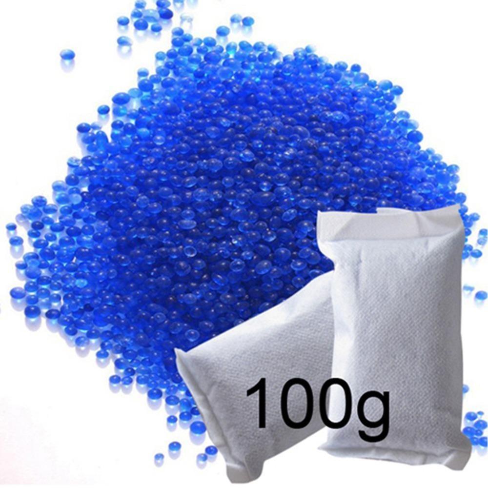 100gram hạt chống hút ẩm xanh (đổi màu) cho máy ảnh, máy quay phim – 2TCAMERA_Q01106