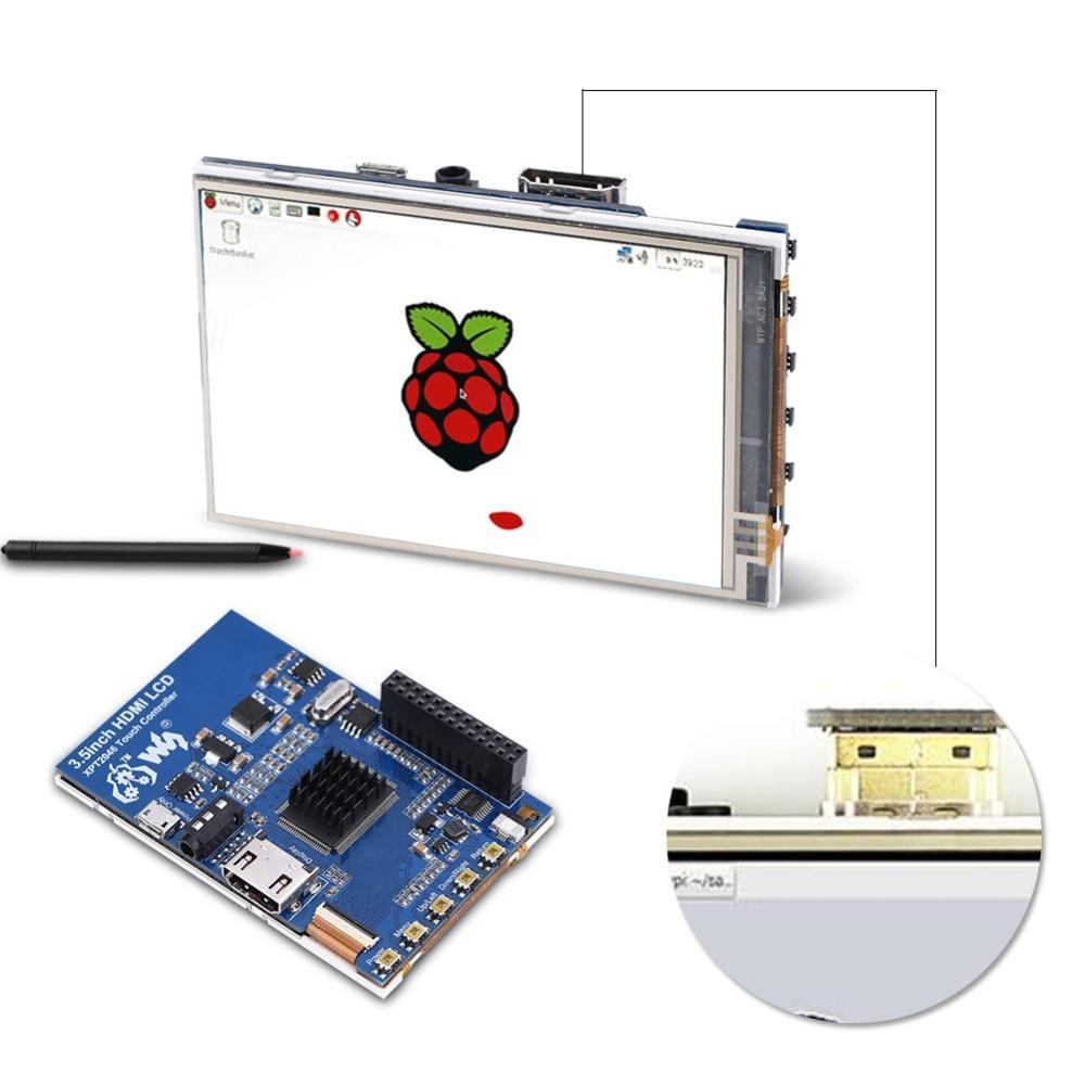 Mua 1080 p IPS 60fps 3.5 inch HD MÀN HÌNH LCD cho Raspberry Pi + tặng Vỏ Acrylic-quốc tế ở đâu tốt?