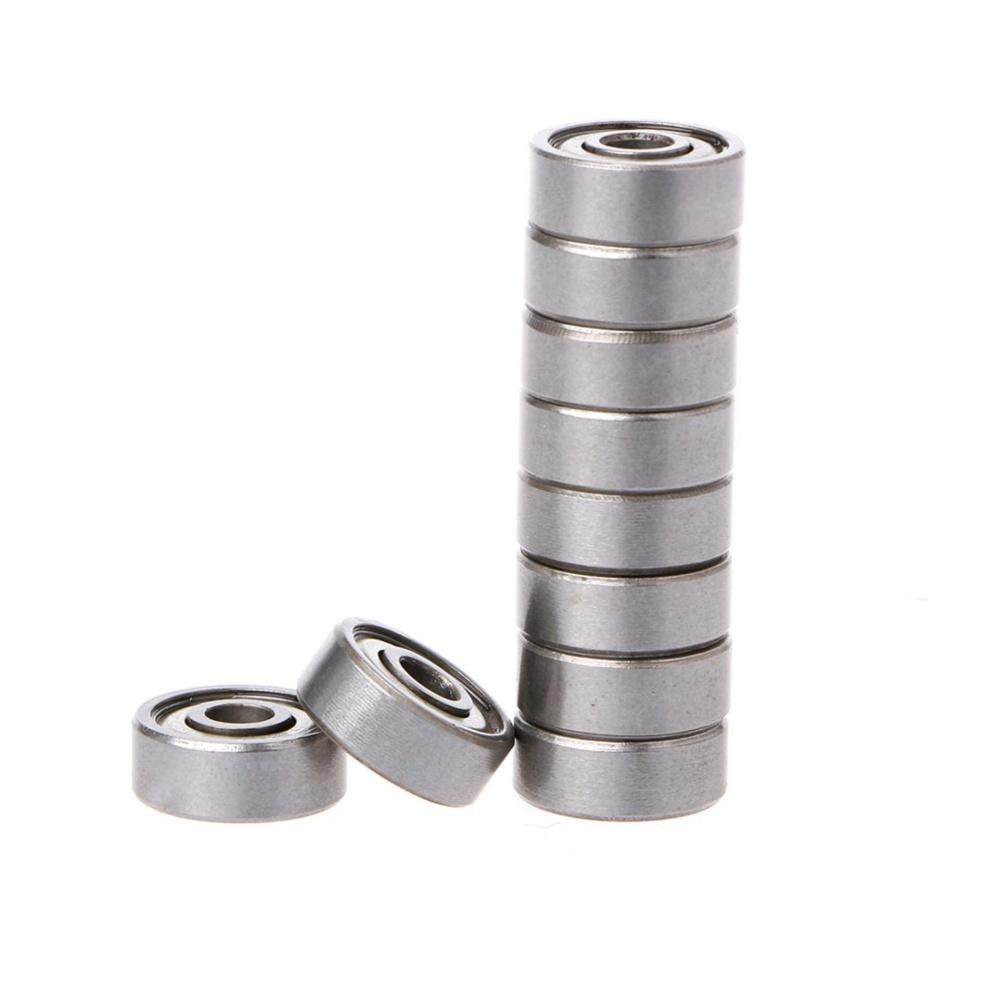 Giá 10Pcs 624ZZ Mini Metal Double Shielded Flanged Ball Bearing For 3D Printer Parts – intl Tại kingstones