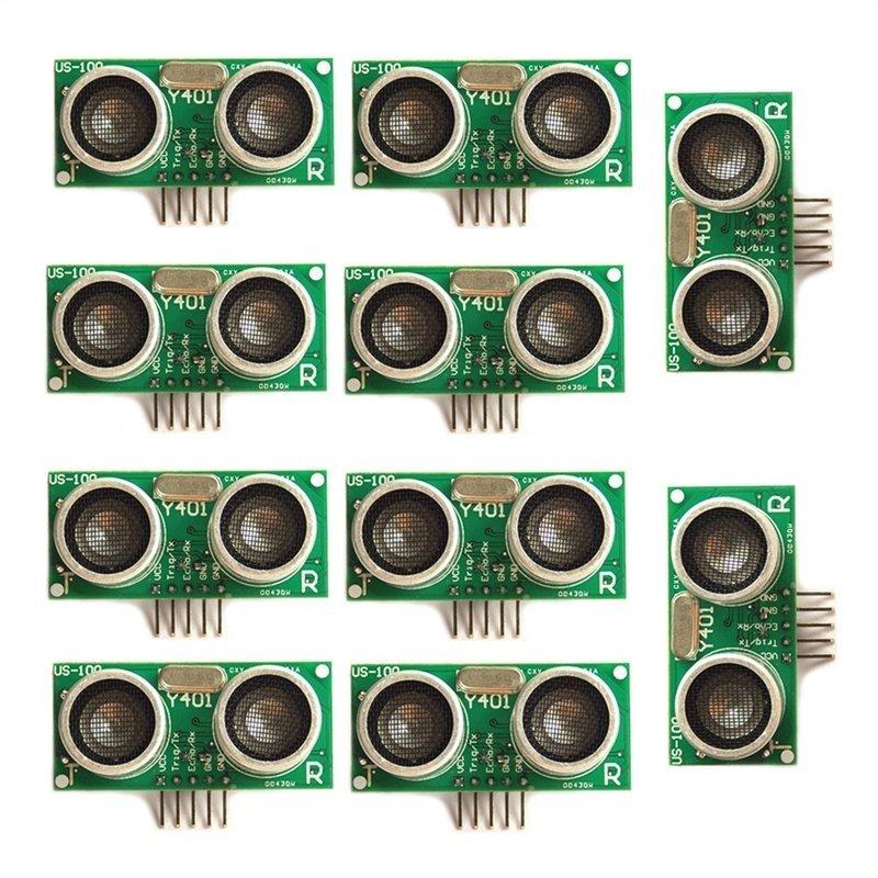 Bảng giá 10pcs US-100 Ultrasonic Sensor Module Temperature Compensation Range for MCU Module - intl Phong Vũ