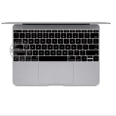 """12 """"Macbook, HOA KỲ loại Bàn Phím Silicone dành cho 12 inch Macbook, Màu Đen-quốc tế"""