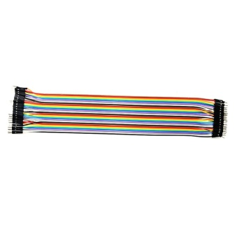 Giảm Giá 120pcs Color Ribbon Line Breadboard Dupont Cable Jump Wire (30cm) – intl  anything4you