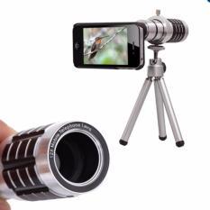 12xZoom Phone Telescope Telephoto Camera Lens+Tripod for iPhone 6 Plus 5.5 (Intl)