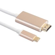 1.8 m 6Ft. 4 k Độ Phân Giải USB-C Loại C USB 3.1 Đực sang Hdmi dành cho Macbook (Vàng)-quốc tế