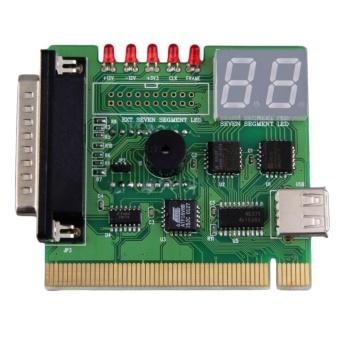 Báo Giá 2-Digit USB PCI Motherboard Diagnostic Analyzer Test Card Laptop PC Desktop – intl  Bluesky Store