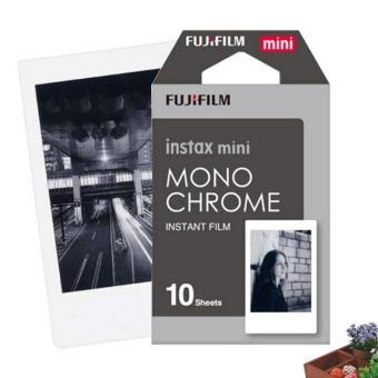 2017 10 Sheets Instant Photo Black White Film for Fuji 7s 8 20 50s Camera - intl