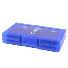 24 trong 1 Thẻ Trò Chơi Mang Ốp Lưng Giá Đỡ Hộp Đạn dành cho Máy Nintendo 3DS DSL (Xanh Dương)-quốc tế