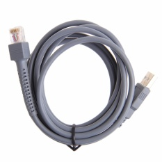 2 m Biểu Tượng Máy Quét Mã Vạch Cáp USB LS1203 LS2208 LS4208 LS3008 CBA-U01-S07ZAR-quốc tế