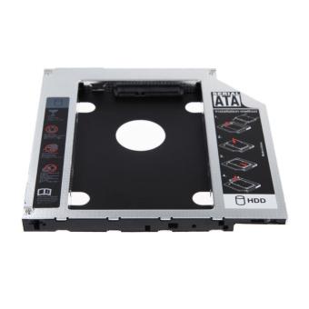 2nd 9.5mm SATA HDD SSD Hard Drive Caddy Bay for MacBook - intl - 4
