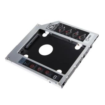 2nd 9.5mm SATA HDD SSD Hard Drive Caddy Bay for MacBook - intl - 2