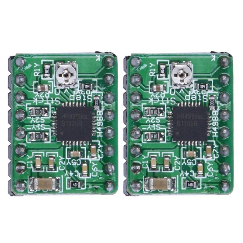 Bảng giá 2pcs A4988 Stepper Motor Driver Module 3D Printer Polulu StepStick RepRap (Green) - intl Phong Vũ