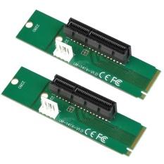 2 cái M.2 NGFF SSD Thẻ Chuyển Đổi Đầu Đực Adapter Sang Pci-e 4X Đầu Cái-quốc tế