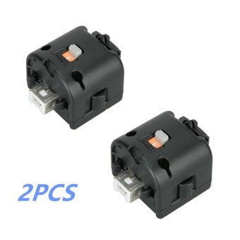 2pcs Motion Plus Adapter Sensor for Wii Remote Controller - intl