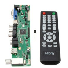 Mua 2pcs Pro Board TV Motherboard Universal LCD Controller VGA/HDMI/AV/TV/USB Interface ở đâu tốt?