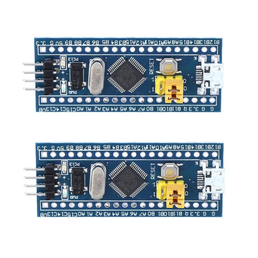 2 cái STM32F103C8T6 CÁNH TAY Tối Thiểu Phát Triển Hệ Thống Mô-đun cho Arduino-quốc tế Đang Bán Tại lotsgoods