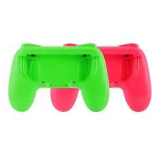 2x Joy-Con Controller Handheld Grip Holder Pink/Green for Nintendo Switch AC962