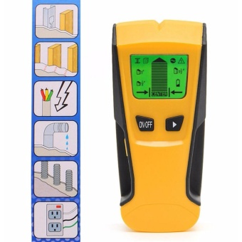 3 in 1 LCD Stud Center Finder AC Live Wire Detector Metal ScannerHot - intl