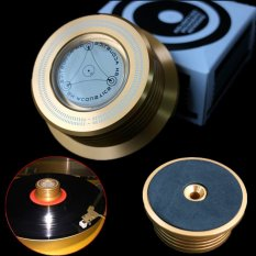 Nơi nào rẻ nhất 3-in-1 Record Clamp LP Disc Stabilizer Turntable Vibration Balanced Golden – intl