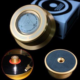 Nơi nào rẻ nhất 3-in-1 Record Clamp LP Disc Stabilizer Turntable Vibration Balanced Golden – intl