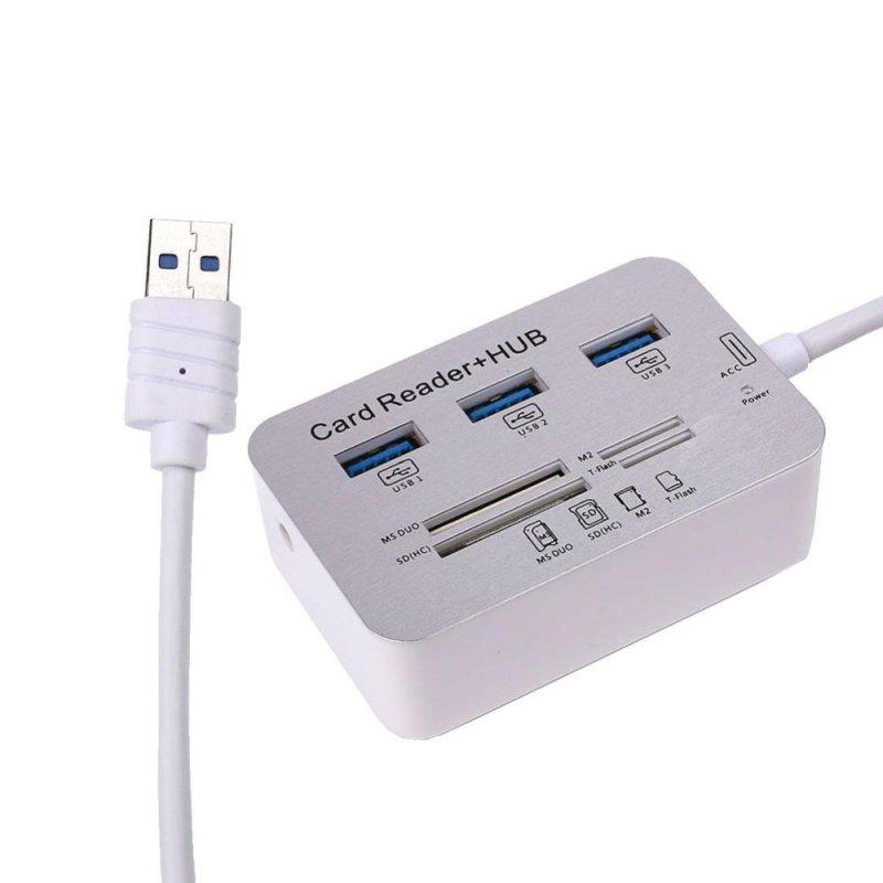 Bảng giá 3 Port USB 3.0 Port SD Card TF Crad Multi Card Reader Hub Adapter Universal - intl Phong Vũ