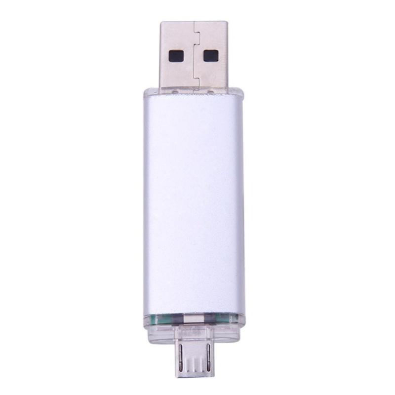 Bảng giá 32Gb Mini Portable USB2.0 OTG Flash Memory Disk for Tablet Desktop PC(Silver) - intl Phong Vũ
