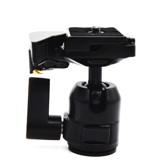 360 Rotate Camera Camcorder Tripod Monopod Ball Head Quick ReleasePlate - intl
