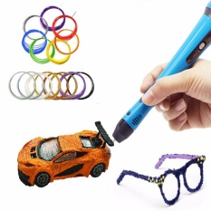 Nơi Bán 3D Printer Filament 1.75mm ABS/ PLA Pen RepRap MakerBot Black PLA 5M – intl