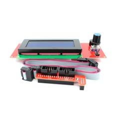 3d Bộ Máy In Ramps 1.4 + Mega2560 + A4988 + 2004 Màn Hình Lcd Điều Khiển Cho Arduino Reprap-quốc tế