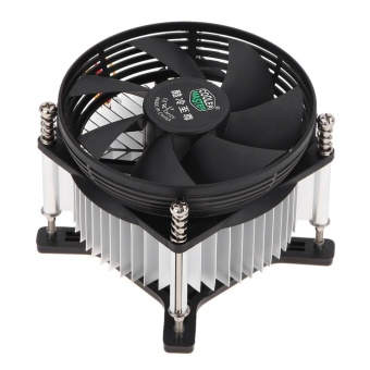 3PIN DC 12V CPU Cooling Cooler PC Ultra Silent Fan For Intel LGA775 - intl